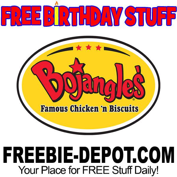 BIRTHDAY FREEBIE – Bojangles' Chicken 'n Biscuits