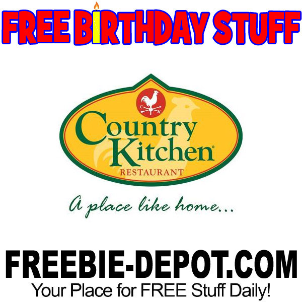 BIRTHDAY FREEBIE – Country Kitchen Restaurant