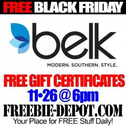 Free-Black-Friday-Belk