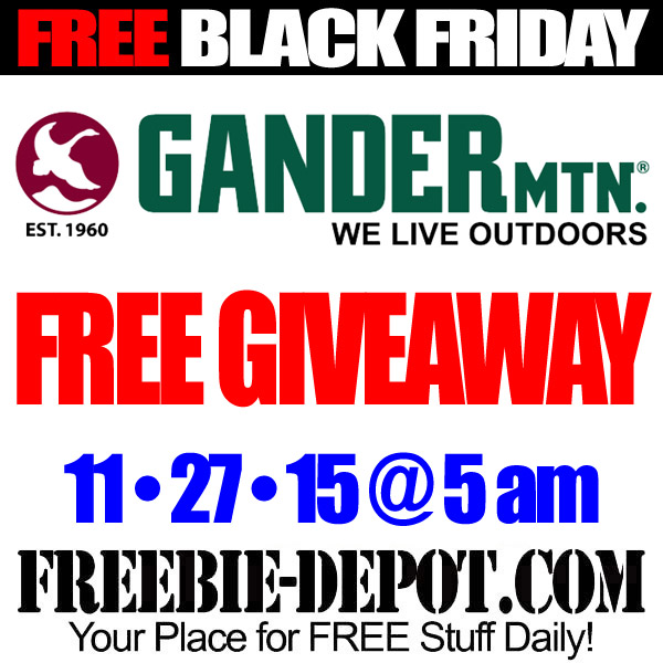 Free-Black-Friday-Gander