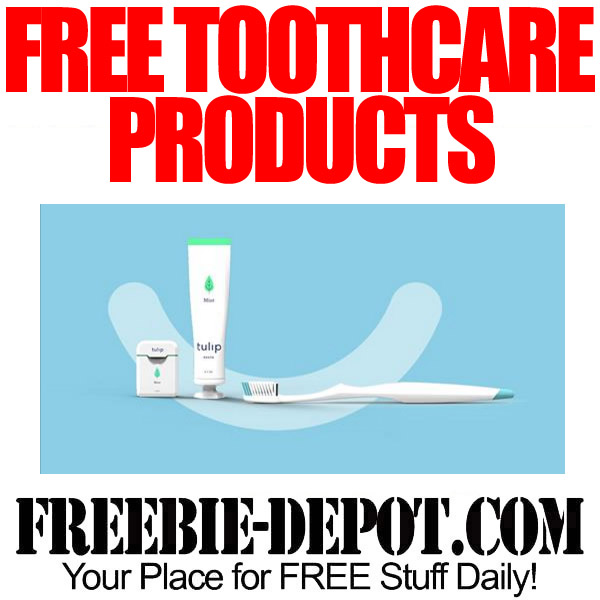 FREE Tulip Toothpaste, Floss & Toothbrush – FREE Year's Supply of Toothpaste!