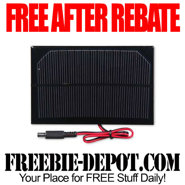 Free-After-Rebate-Solar-Cell