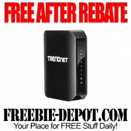 Free-After-Rebate-Trendnet-Router