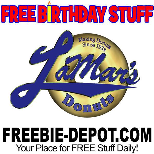 BIRTHDAY FREEBIE – LaMar's Donuts