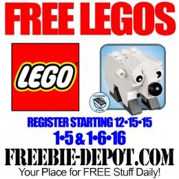 Free-Lego-Polar-Bear