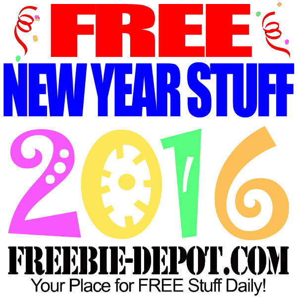 Stuff 2016 – Freebies for the New Year – Free New Year's Eve ...