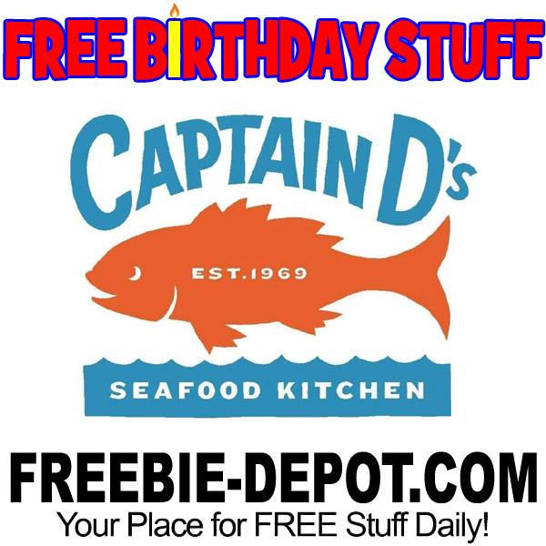 BIRTHDAY FREEBIE – Captain D's Seafood Kitchen – Kids