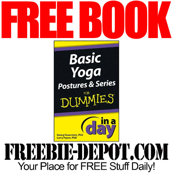 FREE BOOK – Basic Yoga Postures and Series in a Day for Dummies