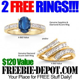 2 FREE Gemstone Rings – $120 Value – LIMITED TIME!