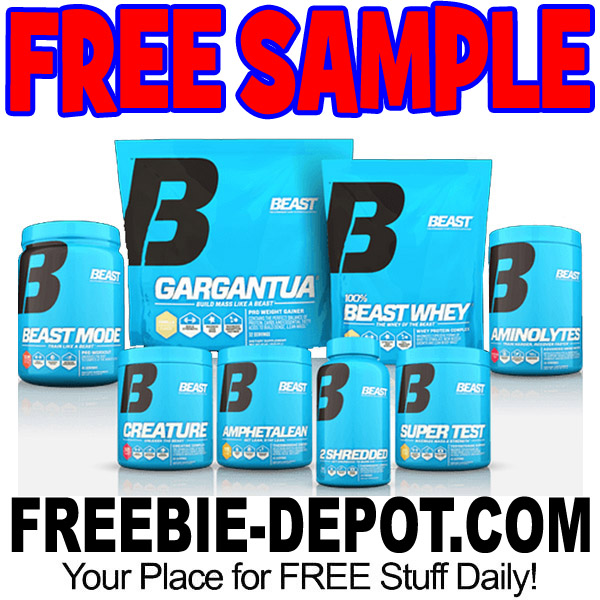 FREE SAMPLE – Beast Sport Nutrition Supplements – FREE Sample for Athletes