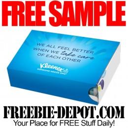 Free-Sample-Kleenex-Pack