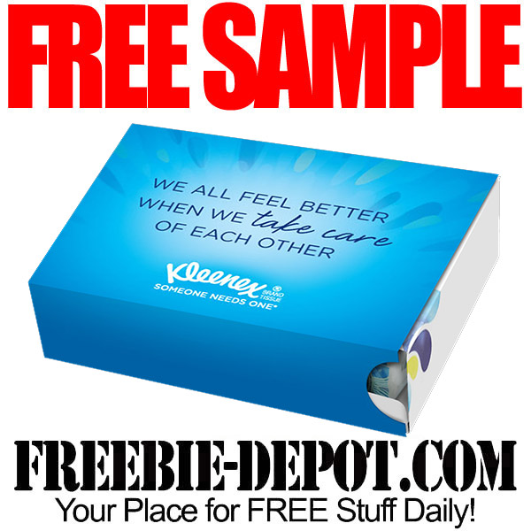 Free-Sample-Kleenex-Pack