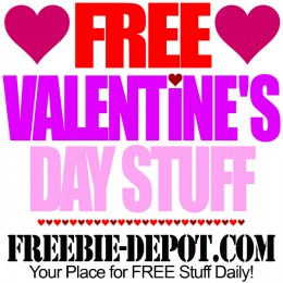 💘 FREE Valentine's Day Stuff 2016 – FREE Stuff for St. Valentine's Day – FREE Valentine Day Gifts, Crafts, Ideas