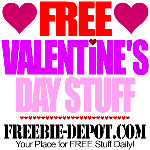 💘 FREE Valentine\'s Day Stuff 2016 – FREE Stuff for St ...