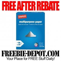 Free-After-Rebate-Staples-Paper-Reams