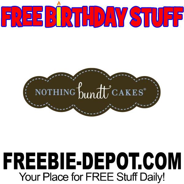 Birthday Freebie Nothing Bundt Cakes Freebie Depot