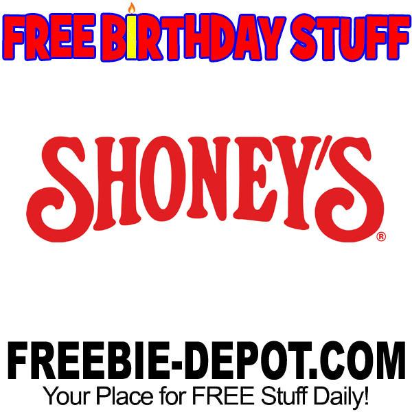 BIRTHDAY FREEBIE – Shoney's