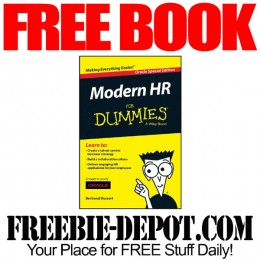FREE BOOK – Modern HR for Dummies + The Myth of Human Resources Best Practices