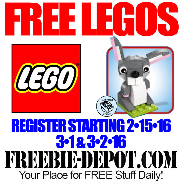 FREE LEGO Mini Model Build – FREE Bunny at LEGO Stores – FREE LEGO ...