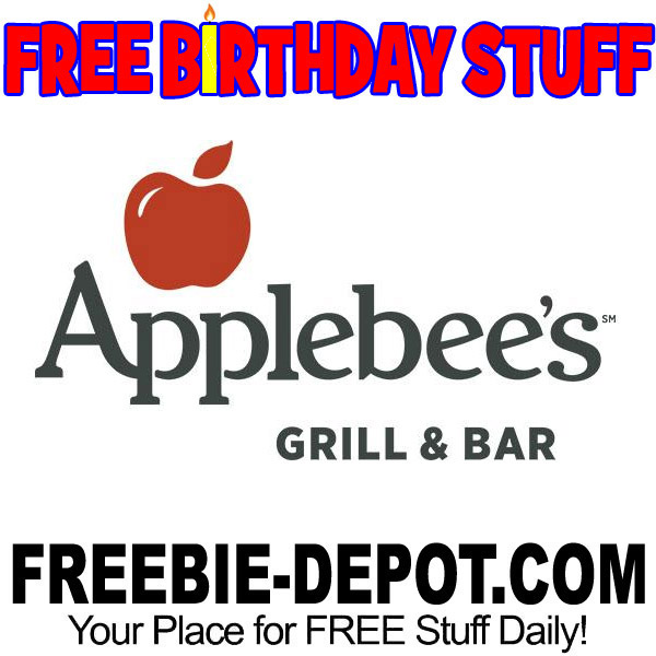 FREE BIRTHDAY STUFF – Applebee's Grill & Bar