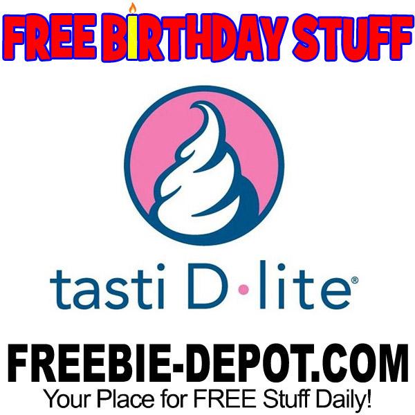 BIRTHDAY FREEBIE Tasti D Lite