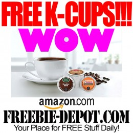 ☕ 10 FREE K-Cups from Amazon!!!! Exp 10/31/16 ☕