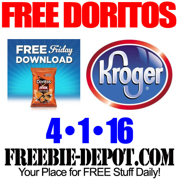 FREE Doritos Mix – Kroger Freebie Friday Download – FREE Digital Coupon – 4/1/16