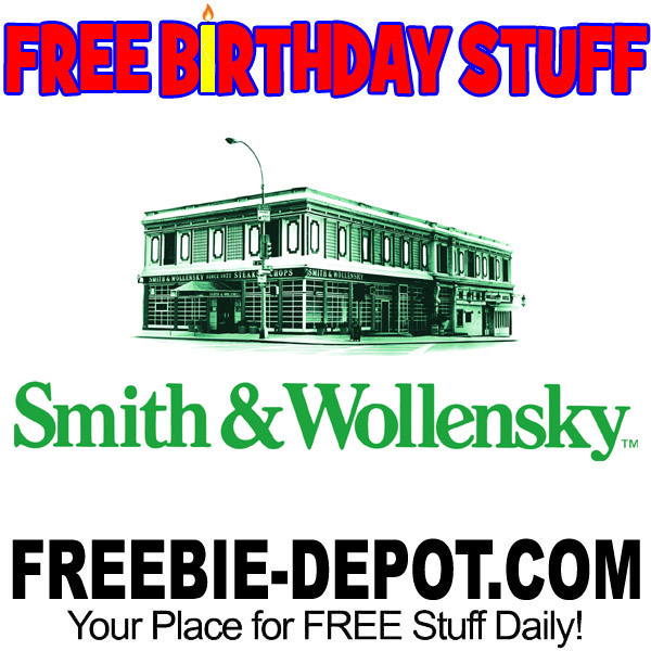 BIRTHDAY FREEBIE – Smith & Wollensky