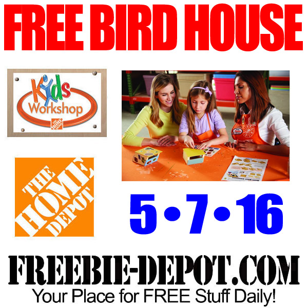 Free-Home-Depot-Bird-House
