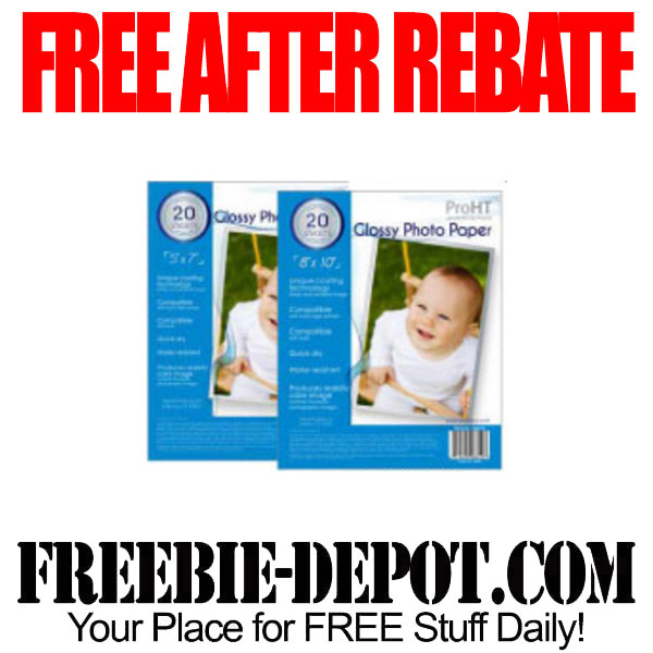 Free-After-Rebate-Glossy-Photo-Paper