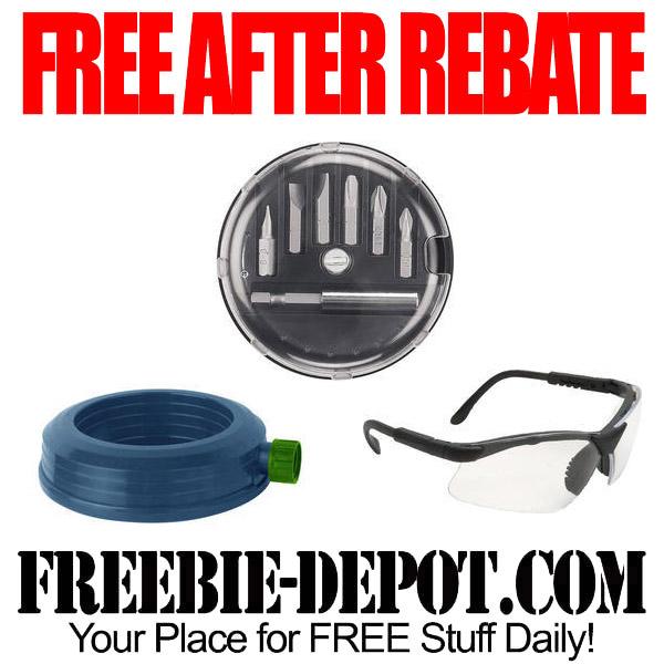 FREE AFTER REBATE – Sprinkler, Glasses & Bit Set at Menards – Exp 6/4/16