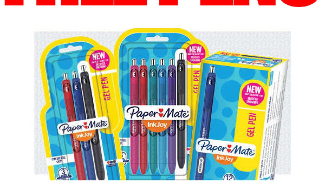 FREE AFTER REBATE – Paper Mate Pens at Office Depot – LIMIT