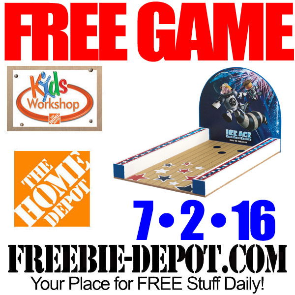 Free-Home-Depot-Ice-Age