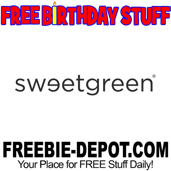 FREE BIRTHDAY STUFF – sweetgreen – FREE BDay Salad – Birthday Freebie Reward Credit