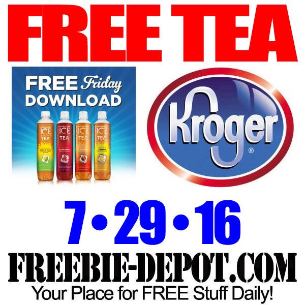 Free-Kroger-ICE-Tea