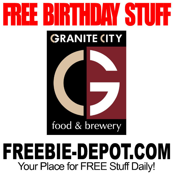 Free Birthday Stuff Website ~ Frugal page