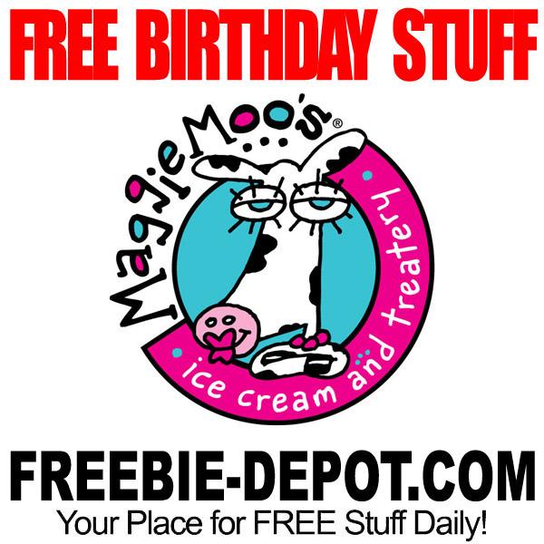 birthday freebie  u2013 maggiemoo u2019s ice cream