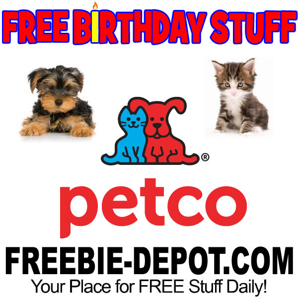 FREE BIRTHDAY STUFF – Petco