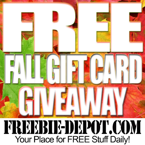 FREE Fall $50 Amazon Gift Card Giveaway! Ends 9/30/16