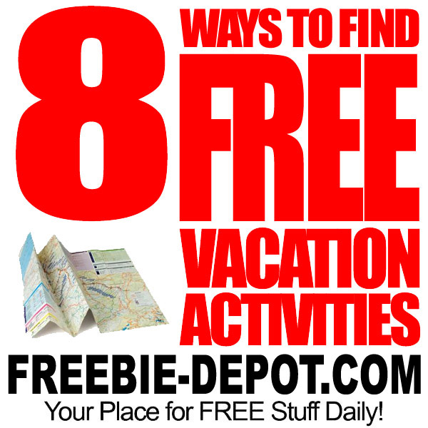 8 Ways to Find FREE Vacation Activities