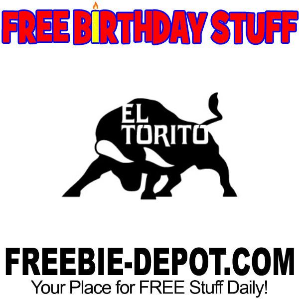BIRTHDAY FREEBIE – El Torito