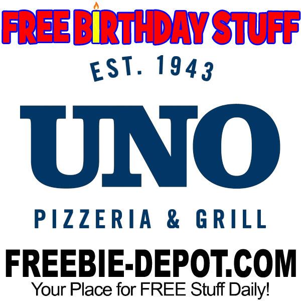 BIRTHDAY FREEBIE – Uno Pizzeria & Grill