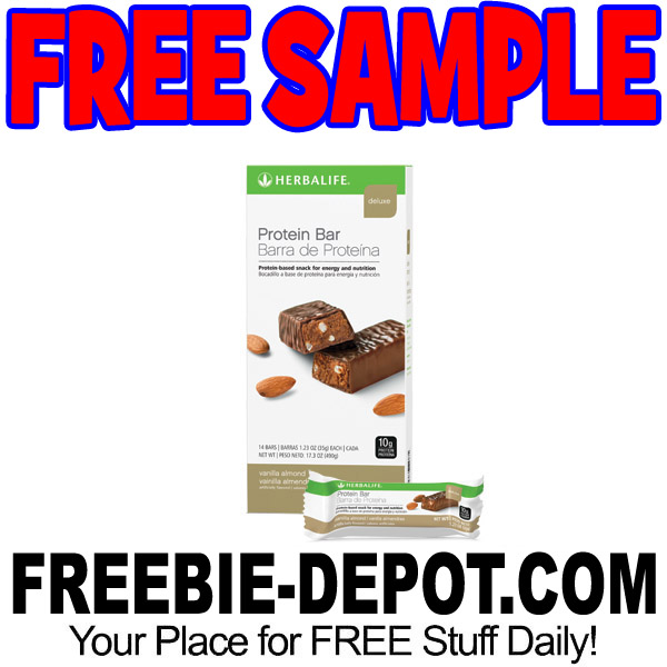 FREE SAMPLE – Herbalife Protein Bar – FREE Fitness and Nutrition Sample