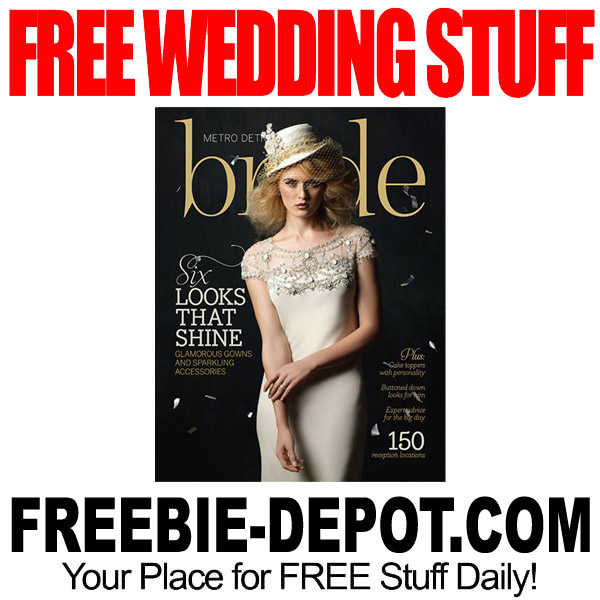 Free Wedding Stuff.Wedding Freebies Freebie Depot