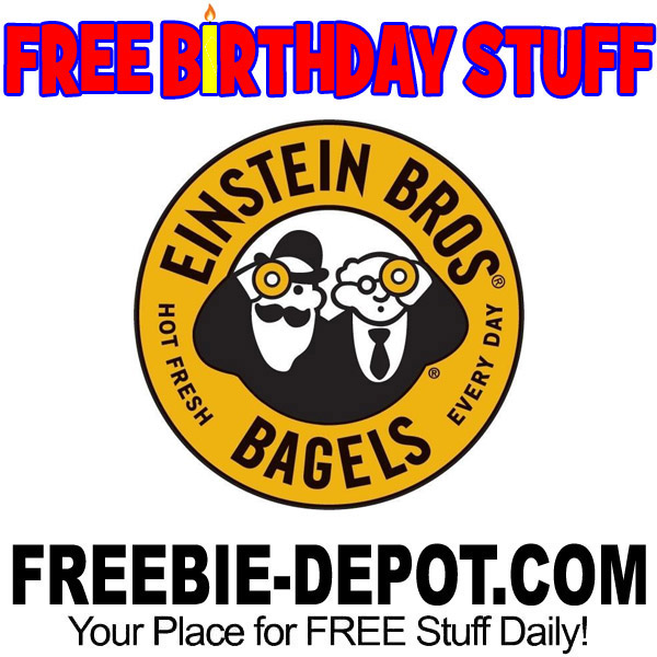 BIRTHDAY FREEBIE – Einstein Bros. Bagels