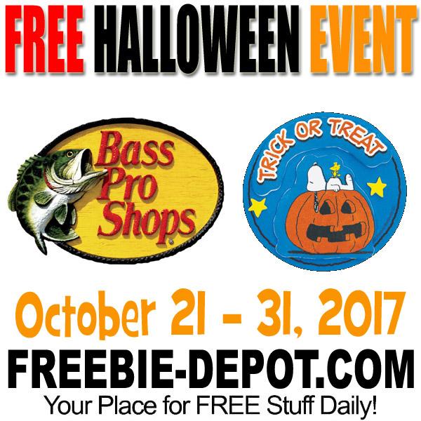 free halloween event bass pro 1021 thru 103117