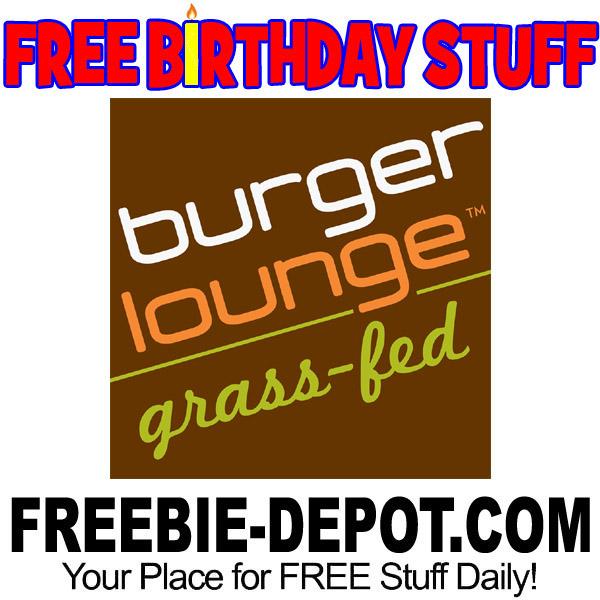 BIRTHDAY FREEBIE – Burger Lounge