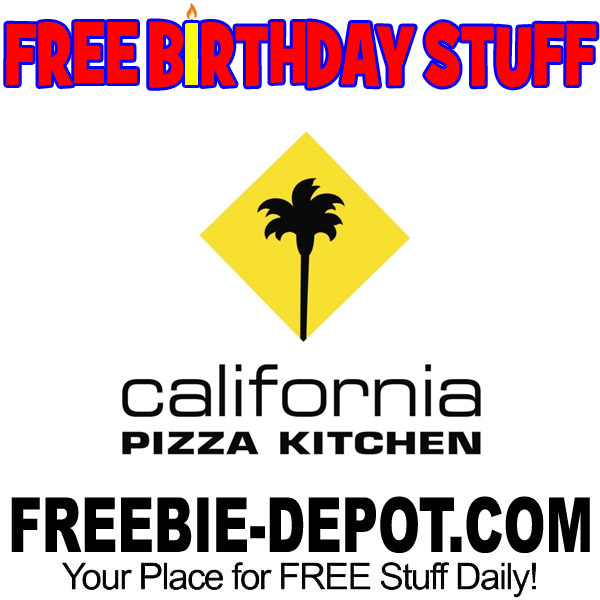 California Pizza Kitchen Birthday Freebie