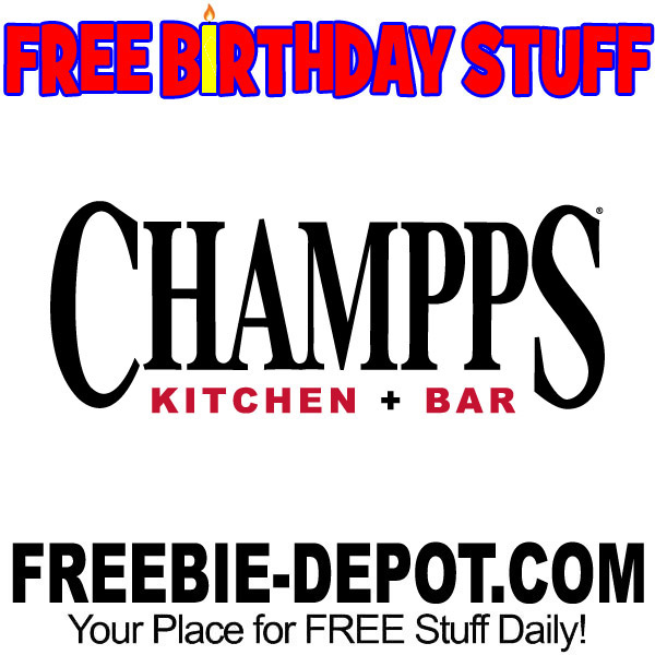 BIRTHDAY FREEBIE – Champps Kitchen & Bar