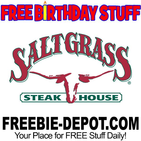 BIRTHDAY FREEBIE – Saltgrass Steakhouse
